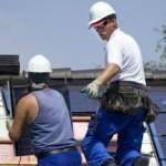 Zonnepanelen installatie op dak header